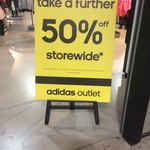 50% off Store Wide @ Adidas Essendon DFO