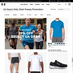 Under Armour up to 75% off (AmEx Card Holders)