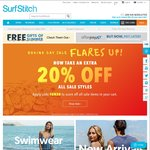 Surfstitch Boxing Day 'Flare Up' Sale. Extra 20% off Sale Items
