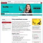 RCG and RSA Courses Free at TAFE Sydney