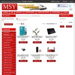 MSY - Kingston Hyperx Alloy Cherry MX Blue with Red LED - Mechanical Keyboard $89