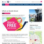 Free UPark on Rundle Street Parking for under 60 Minutes (Excludes Nights & Sundays) [Adelaide]
