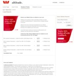 Westpac Altitude 30% Savings on Cashback of Altitude Points