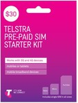 Telstra $30 SIM Starter Kits $11 Delivered @ Mobileciti