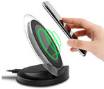 Preorder Qi Wireless Charger Fast Charger Holder US $13.99 (~AU $17.57) Delivered @ Banggood