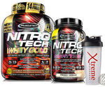 Muscletech Nitrotech Whey Gold 6lb and Muscletech Nitrotech Night Time 2lb ($104.40 Delivered) @ Xtreme Warehouse