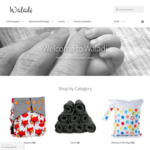 10% OFF Bamboo Charcoal Cloth Nappies, Inserts, Liners Rolls & Different Size Wet Bags @ Waladi