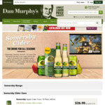 Somersby Apple or Pear Cider Cans 375ml - 10x Pack $17.95, 30x Pack $49.95 @ Dan Murphy's