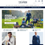 T.M. Lewin 30% off Everything Including Sales Items