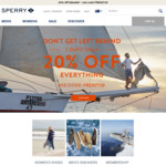 20% off Sitewide on Sperry with Promo Code