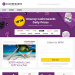 Win Daily Prizes from Cashrewards 12 Days of Christmas Giveaway
