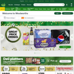 Get $20 off When You Spend $180 or More in One Shop at Woolworths Online by 31/12
