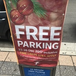 [NSW] Free Parking in Parramatta NSW over Christmas