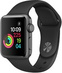 Apple Watch 38mm Series 2 - Space Grey Aluminium - $323.10 Delivered @ Telstra