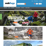 Webtogs - 20% off Everything