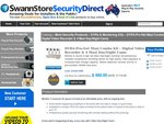 Swann reconditioned remote view LAN DVR + x4 420TV Line CCD Security Cameras $480 60% off