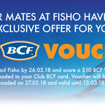 Free $10 BCF Voucher for Downloading Fisho App