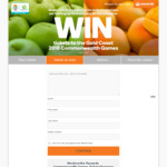 Win 1 of 26 Commonwealth Games Ticket Packages from Woolworths [Rewards Members]