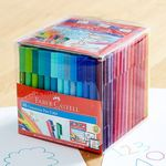 Faber-Castell: Connector Markers 20pk $3.75 | Coloured Pencil 24pk $4 @ Woolworths | Connector Pen Cube 48/18pk $12/ $5 @ Target