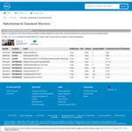 Dell Monitors Refurbished P2217H $135, P2317H $149, P1917S $130 @ Dell