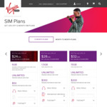 Virgin Mobile - $24 P/M - Unlimited Calls/SMS + 6GB Data (12 Month Contract)
