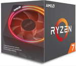 AMD Ryzen 7 2700X 8 Core, 16 Threads, Unlocked with LED Cooler $421.88 + Shipping From $8.39 @ PB Tech