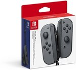 Nintendo Switch Joy-Con Controller (Grey) $70.24 Delivered @ Amazon AU (New Users)