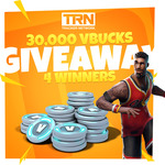 Win 1 of 4 Prizes of 7500 Fortnite VBucks from Tracker Network