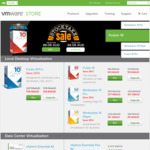 VMware 25% Savings on Desktop Virtualization. Fusion 10 $89.06. Workstation 14 Pro $277.98