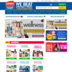 $5 off (No Minimum Spend) + Shipping (Free over $50) @ Chemist Warehouse