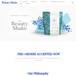 Free Shipping Worth $9.90 @ The Beauty Shake