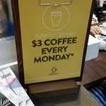 [WA] Retailer Special $3 Small Coffee Every Monday (Normally $4.10) @ Jamaica Blue, Belmont