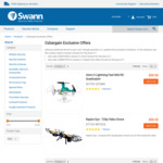 3 Drones for The Price of 1. $99.95 for 3x 720p Video Drones or $39.95 for 3x Mini RC Quadcopters + Free Shipping @ Swann