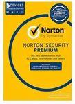 [PC, Mac] Norton Security Premium 2018 Antivirus Internet 5 Users 1 Year $33.60 Delivered @ Futu eBay