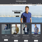 $50 off Suits, Business Shirts & Men's Casual @ Stafford Ellinson