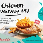 [VIC] Free ¼ Chicken and Chips, 12/10 11AM-2PM @ Nando's Footscray