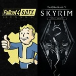 [PS4] Fallout 4 GOTY + Skyrim Special Edition Bundle $39.95 @ PlayStation Store