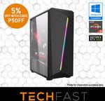 Ryzen 5 2600 GTX 1060 6GB $704.65, Ryzen 5 2600 RX 580 8GB $679.15, Ryzen 5 RTX 2070 $1260 + More @ TechFast eBay US  (via App)