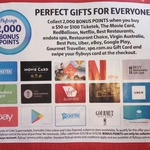 2,000 Flybuys (Worth $10) with $50 or $100 Gift Cards - eBay, Netflix, Google Play, Uber, Virgin, Ticketek + More @ Coles