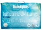 Dunlopillo Luxurious Latex Medium Profile & Medium Feel Pillow $74.97 Delivered @ Harris Scarfe