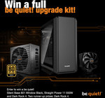 Win a be quiet! Upgrade Kit or 1 of 2 Dark Rock 4 CPU Coolers from TechPowerUp