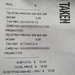 Telstra $30 Prepaid Starter Pack $5 @ JB Hi-Fi in Store