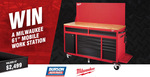 "Win a Milwaukee 61"" Mobile Work Station, Worth $2,499 from Burson Auto Parts"