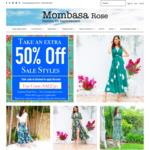 Take A Further 50% off Sale Items @ Mombasa Rose Fashion