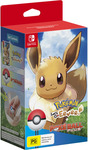 [Switch] Pokemon: Let's Go, Pikachu/Eevee! with Pokeball Plus Bundle $99 @ Big W