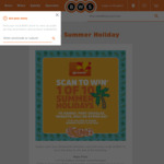 Win 1 of 10 Summer Holidays from BWS/Woolworths Rewards