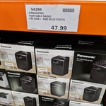 [NSW] Panasonic RF-D20UGN Bluetooth DAB+ FM Radio $47.99 @ Costco Lidcombe (Membership Required)