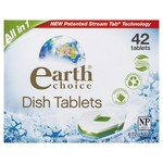 Earth Choice All in One Dishwasher Tablets (42 pack) $12.50 @ Coles