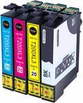 Compatible Epson 200XL Ink Cartridge $11.20 (30% off) + Delivery (Free with Prime/ $49 Spend) @ Hehua-AU Amazon