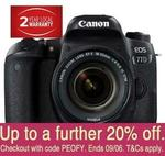 Canon 77D with 18-55mm STM Lens (Australian Stock) $914.28 + Delivery (Free with eBay Plus) @ No Frills eBay